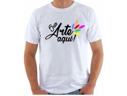 Camiseta Promocional - Algodão